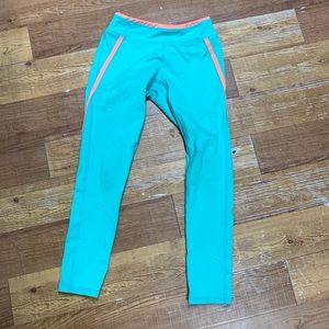 Zella Girl Athletic Leggings Pants Small 7/8